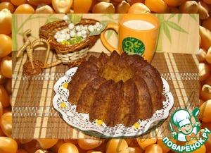 Рецепт Кекс из кукурузного толокна