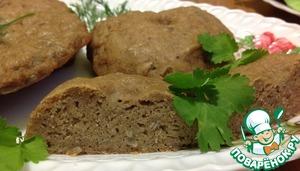 Рецепт Хлебные лепешки из гречневой муки