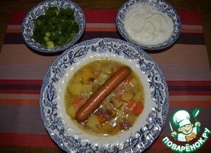 Рецепт Суп из брюквы