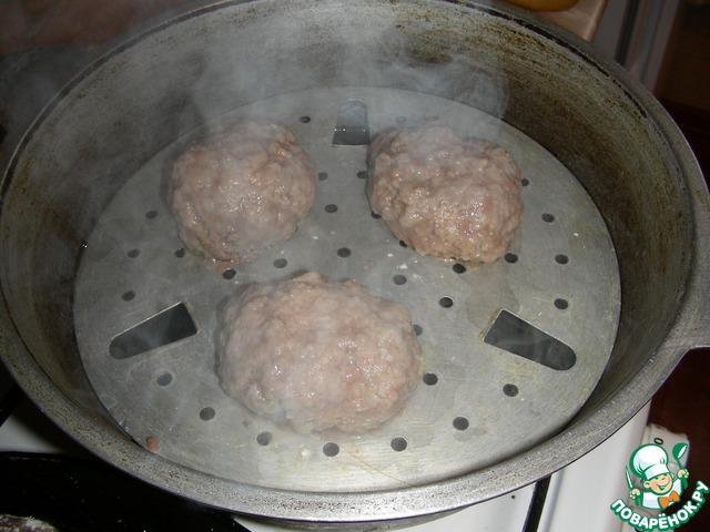 котлеты мясо-капустные