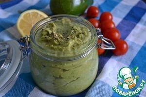 Рецепт Мексиканская паста из авокадо гуакамоле с кешью