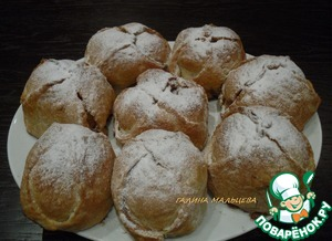 Рецепт Яблоки в слоеном тесте