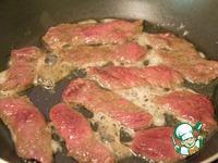 Теплый салат с говядиной ингредиенты
