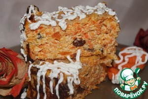 Рецепт Творожно-морковный десерт