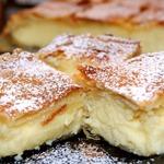 Бугаца-традиционный греческий пирог с кремом