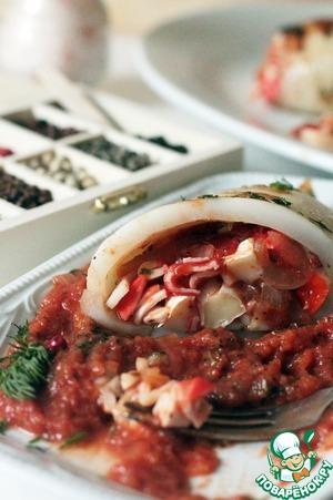 Рецепт Неаполитанские кальмары-гриль