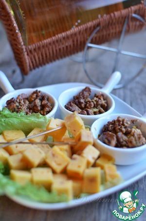Рецепт Пикантная ореховая закуска