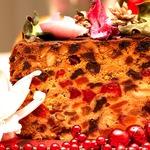 Фруктовый кекс к Рождеству