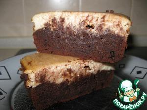 Рецепт Шоколадно-банановое пирожное