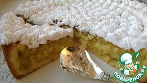Рецепт Яблочно-винный торт
