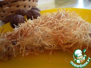 Рецепт Кадаиф с грецким орехом