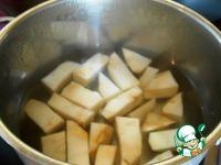 Пюре из корневого сельдерея ингредиенты