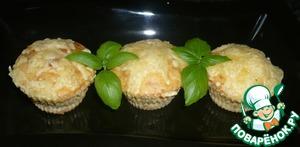 Рецепт Луковые мини-кексики с сюрпризом