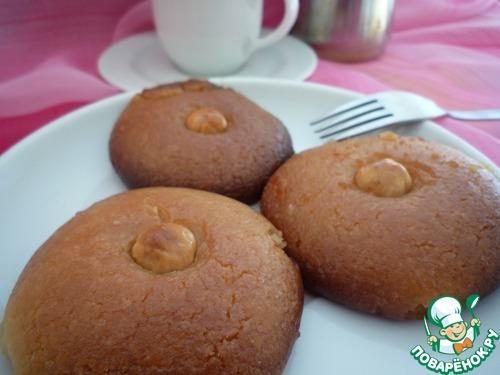 Печенье в сахарном сиропе