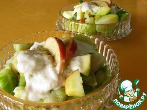 Рецепт Салат из брюссельской капусты