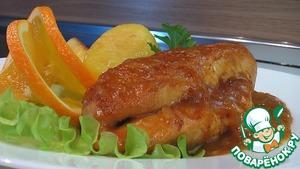 Рецепт Куриные грудки, глазированные карри