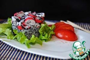 Рецепт Крабовый салат в японском стиле