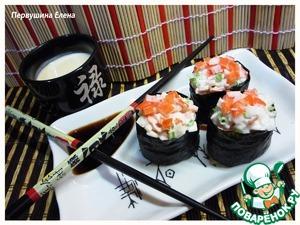 Рецепт Гункан-Маки (gunkan-machi)