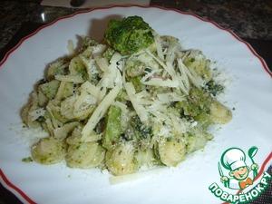 Рецепт Паста с брокколи и сальсиччей