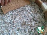 Закусочный торт из хлебушка ингредиенты