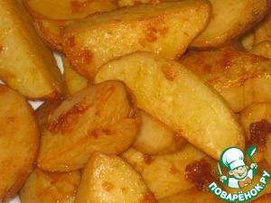 Рецепт Картофель по-деревенски запеченный