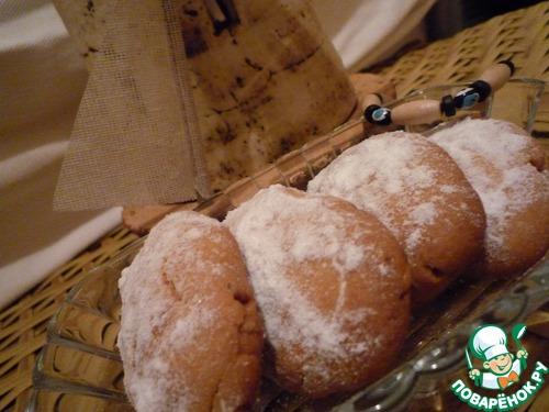 Курабье с грецким орехом
