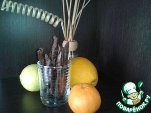 Рецепт Десертные цитрусовые палочки