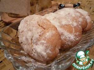 Рецепт Курабье с грецким орехом