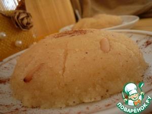 Рецепт Халва из манной крупы с кедровыми орехами