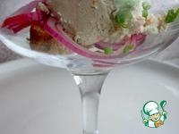 Мороженое из сельди с крабовой крошкой ингредиенты