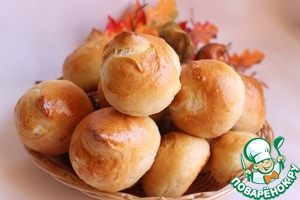 Рецепт Хлебные булочки на йогурте