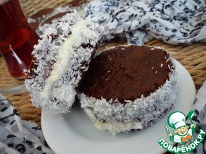 Рецепт Десерт Тюрбан имама + молочный десерт