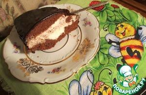 Рецепт Замороженный шоколадный торт