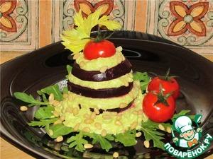 Рецепт Мильфей из свеклы и авокадо