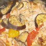 Куриное филе с овощами в рукаве для запекания