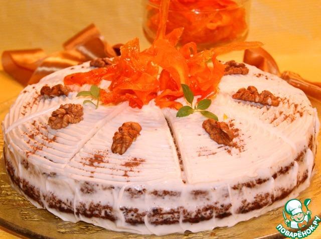 Какой крем для морковного торта