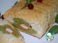 Рыбный хлебец с начинкой из броколи и крабовых палочек ингредиенты