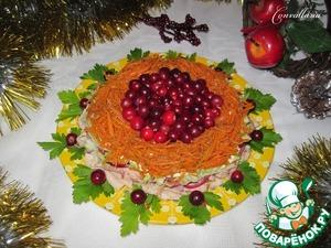 """Рецепт Салат """"Новогодняя феерия"""""""
