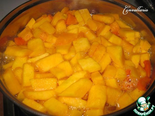 рецепт супа из тыквы с фото пошагово