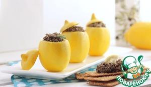 Рецепт Фаршированные лимоны с тапенадой
