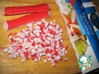 Пирог с брынзой и крабовыми палочками ингредиенты