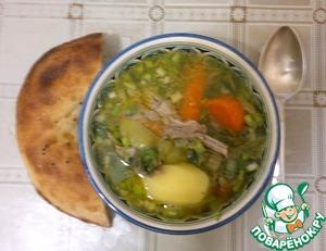 Рецепт Узбекская шурпа в мультиварке