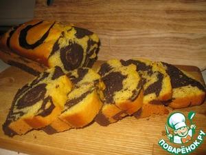 Рецепт Шоколадно-тыквенный кекс