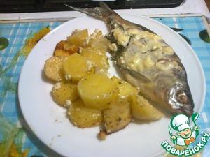 Рецепт Запеченная речная рыба