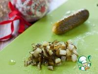 Салат-желе с курицей и овощами ингредиенты