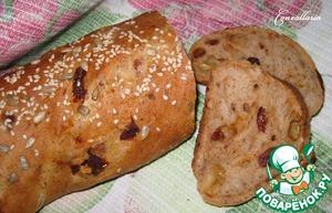 Ржаной батон с сыром и вялеными томатами пошаговый рецепт с фото