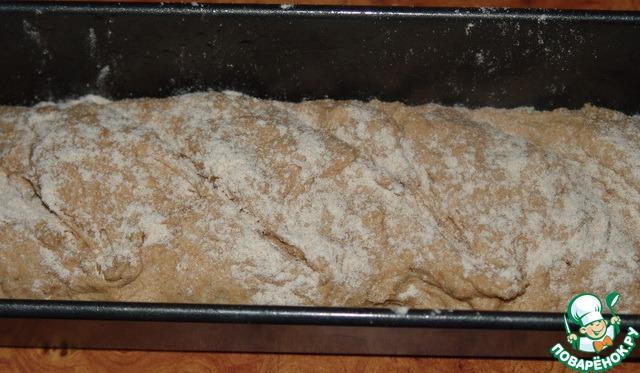 Цельнозерновой хлеб в духовке рецепт с пошагово