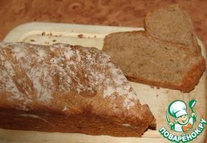 Рецепт Хлеб из цельнозерновой муки с картофелем