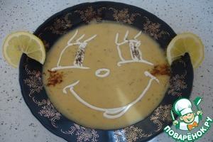 Рецепт Мерчи суп. Суп-пюре из красной чечевицы