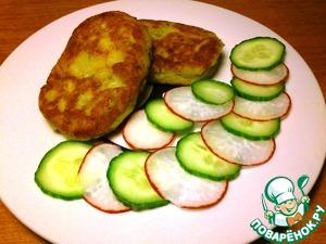 Рецепт Биточки из рыбы и картофеля